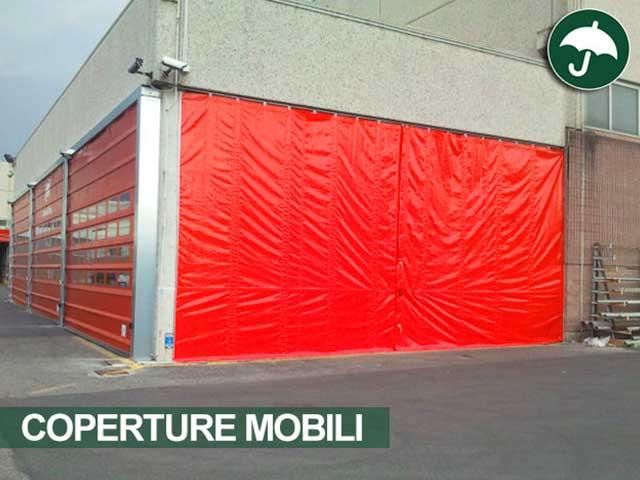 Chiusura con tende scorrevoli civert soluzioni logistiche - Tenda porta scorrevole ...