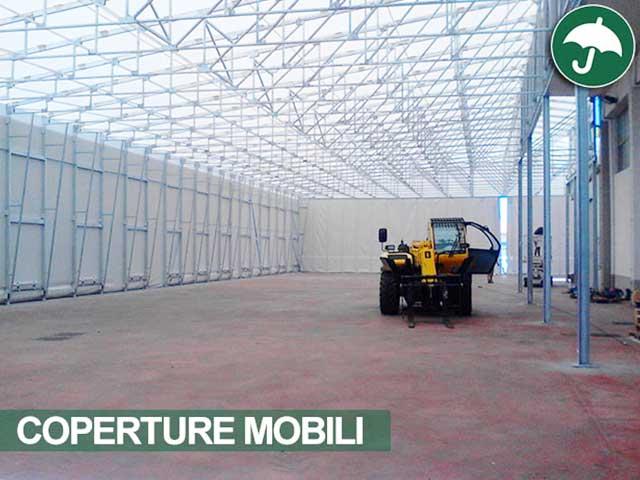 Coperture mobili F.lli Arena: terminato il montaggio in Sicilia