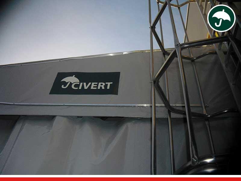 coperture mobili Rovigo monopendenza a Porto Tolle