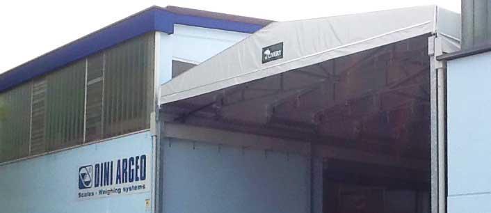 Tettoia in PVC - montaggio struttura Civert - Qualità e rapidità.