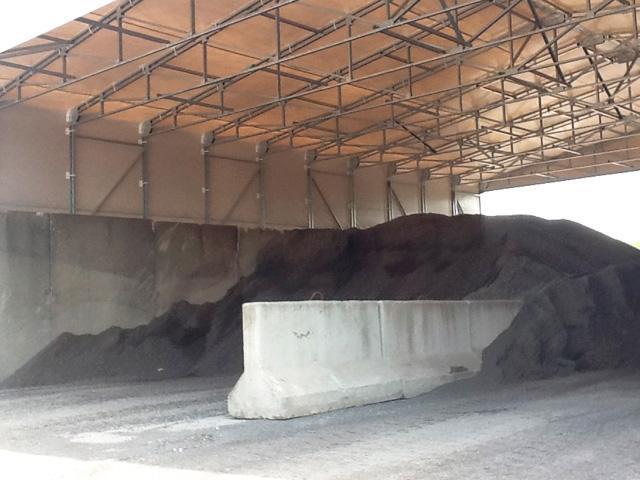 copertura in PVC bitumati emiliani interno struttura