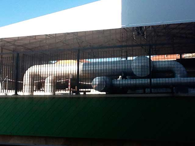 Tettoia in PVC la nuova installazione di civert