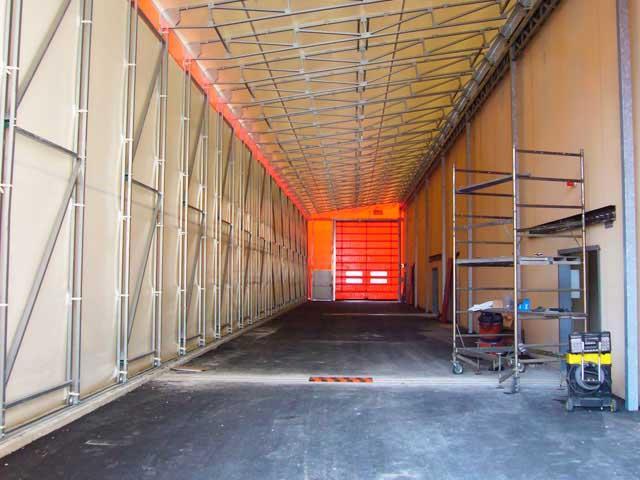 Tunnel zoppo interno struttura.