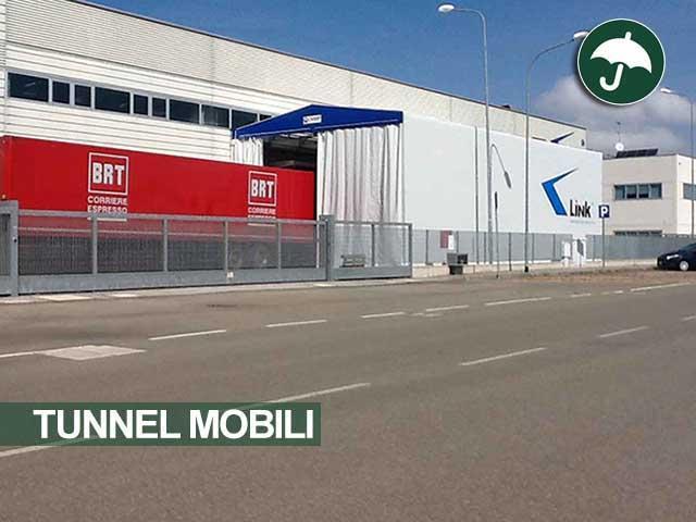 Coperture scorrevoli tunnel mobili Civert