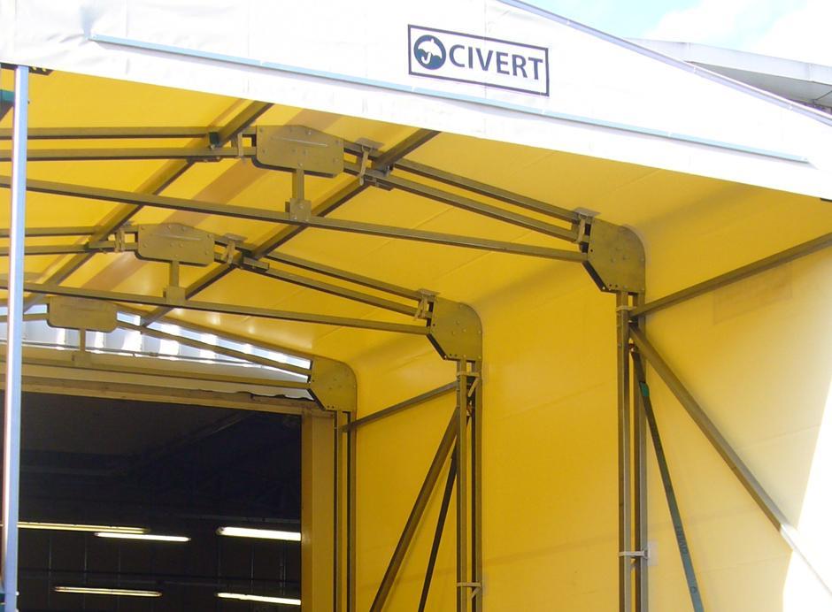 Tunnel retrattile civert