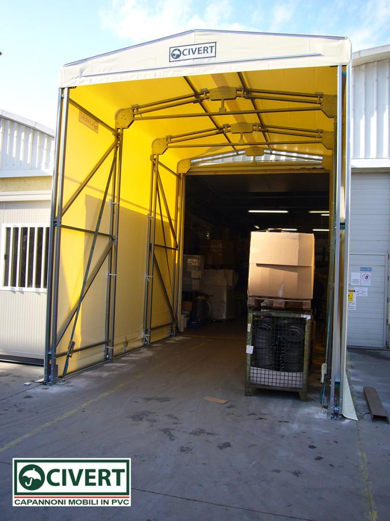Tunnel retrattile long Civert per VML