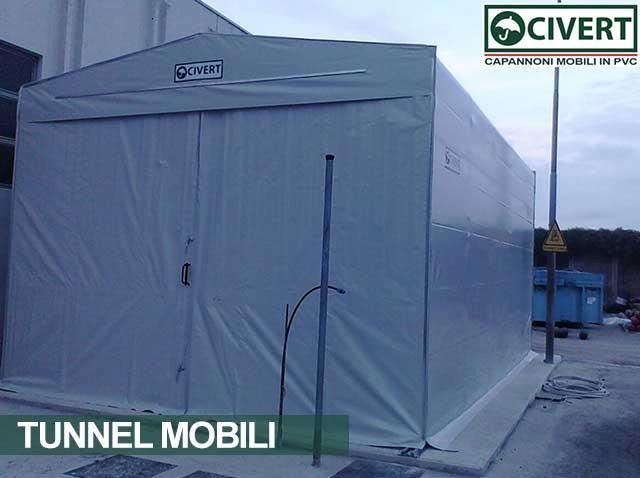 Tunnel retrattile Civert Marchegiani est