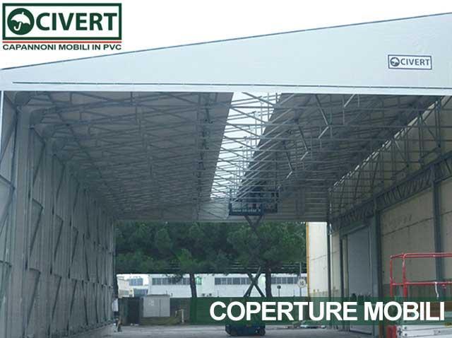 Copertura mobile monoside Civert