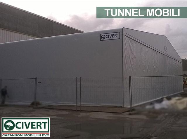 tunnel indipendenti in pvc Ansaldobreda Finmeccanica