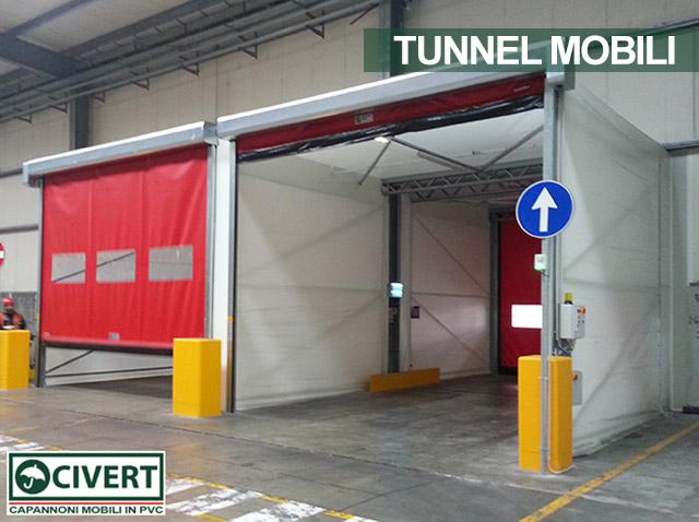 le due vie del tunnel bussola pvc coca cola