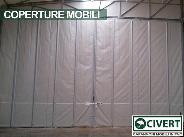 Chiusure per coperture mobili: le tende scorrevoli