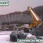 coperture industriali in PVC: il montaggio