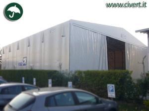 capannoni in pvc: nuova copertura KSB