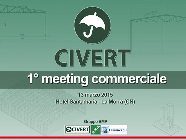 Copertina primo meeting commerciale Civert