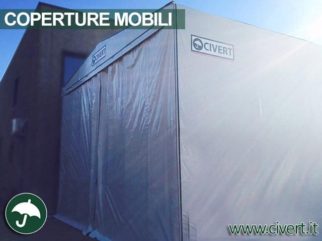 Copertura mobile in pvc Civert per Premi & C.