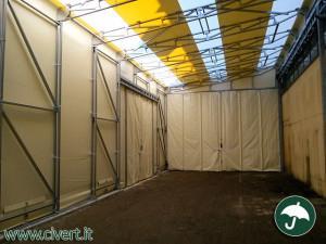 interno tunnel mobili in pvc Parini tecnologia per l'ambiente
