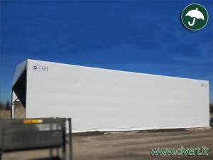 coperture mobili in pvc: capannoni emiliana conglomerati