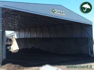 capannoni mobili per cliente emiliana conglomerati