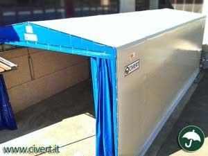 capannoni mobili industriali per icar