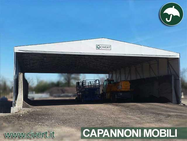 Capannone mobile in pvc Civert