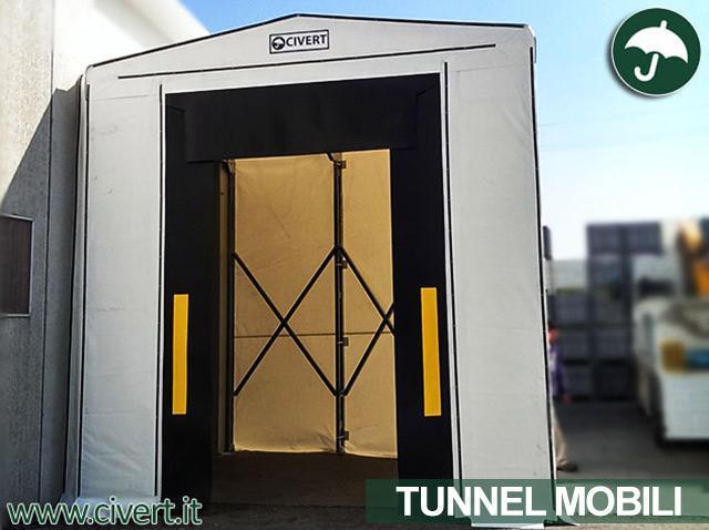 Copertura tunnel mobile a chiocciola Civert