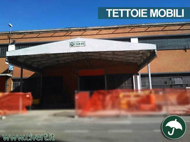 Tettoia mobile in pvc Civert per Fiat Mirafiori
