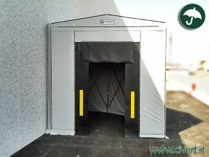 tunnel chiocciola in pvc