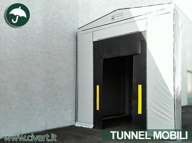 Tunnel a chiocciola Civert per Eurocosmetic