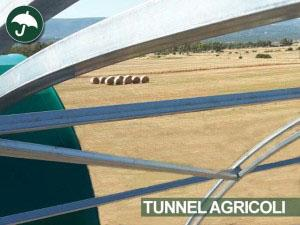 tunnel agricoli in pvc civert in sardegna