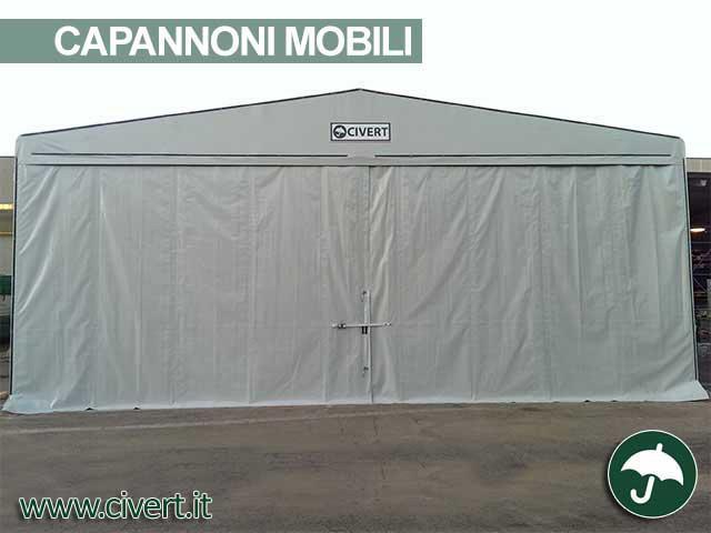 capannone mobile in pcv