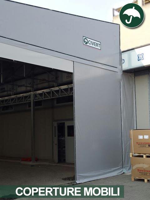 Settore automobilistico: nuove coperture mobili a Milano