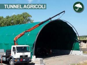 montaggio di coperture agricole in pvc