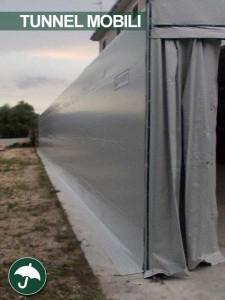 tunnel mobili industriali in pvc in campania per birrifici