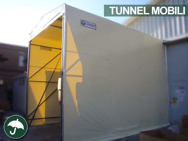 tunnel mobili di collegamento in pvc