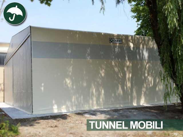 Tunnel mobile in pvc Civert per Govoni Handling System Srl