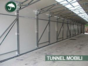 tunnel mobili Campania a Salerno per il settore agroalimentare