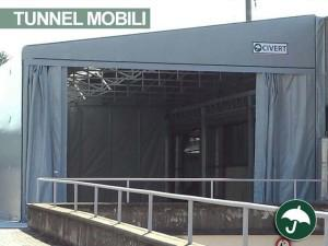 Tunnel retrattili in pvc per il settore metalmeccanico e delle v