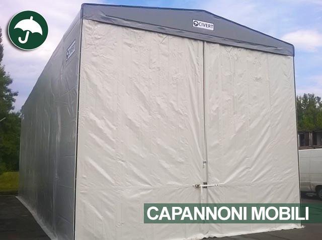 Capannone mobile in pvc Civert in Emilia Romagna