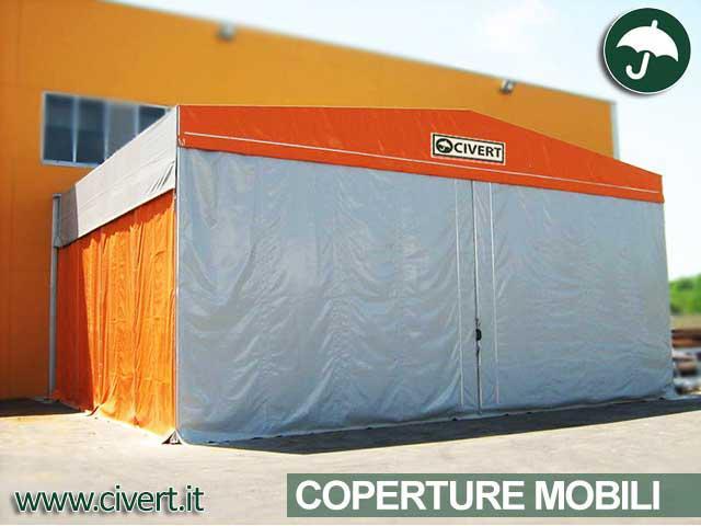 Coperture mobili PVC in Veneto