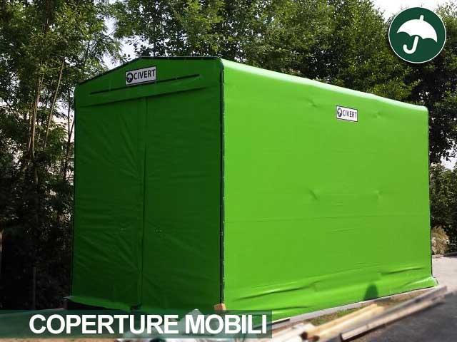Copertura industriale verde in pvc modello Only
