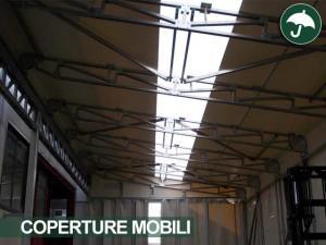 coperture mobili industriali Toscana settore meccanica di precision
