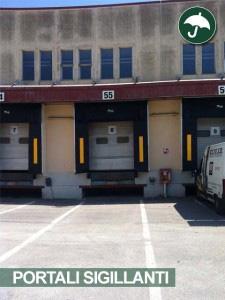 portali sigillanti isolanti in pvc per capannoni per l'industria