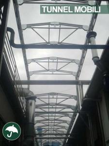 tunnel mobile pvc per il settore metalmeccanico
