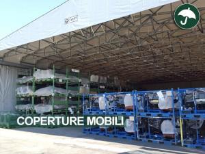 Coperture mobili frontali in pvc per Lear Corporation