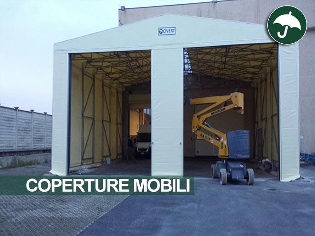 Copertura mobile in pvc Civert per Lavanderia LIM