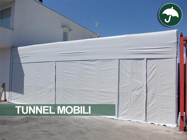 Tunnel mobile Civert per Nuova Cartoplastica srl