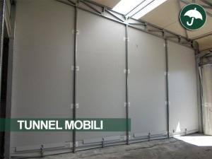 tunnel mobili in pvc