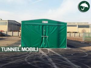 tunnel mobile in pvc per Enel