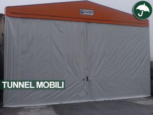 Tunnel mobili in pvc per Igea