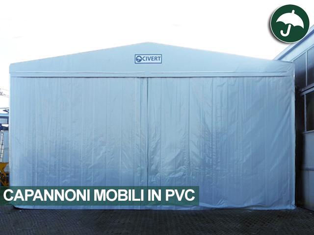 Capannone mobile in pvc Civert per MF srl